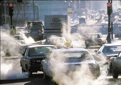 汽车尾气污染_汽车尾气污染图片,汽车尾气污染简笔画; 南京市黄标车
